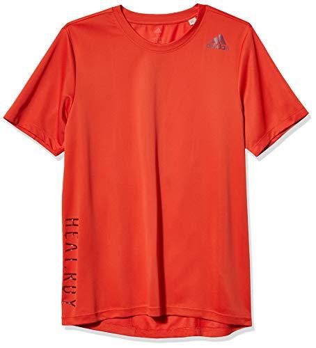 adidas Heat.rdy - Camiseta de Manga Corta para Hombre, Hombre, Camisa, GUU17, Gloria ámbar, XX-Large