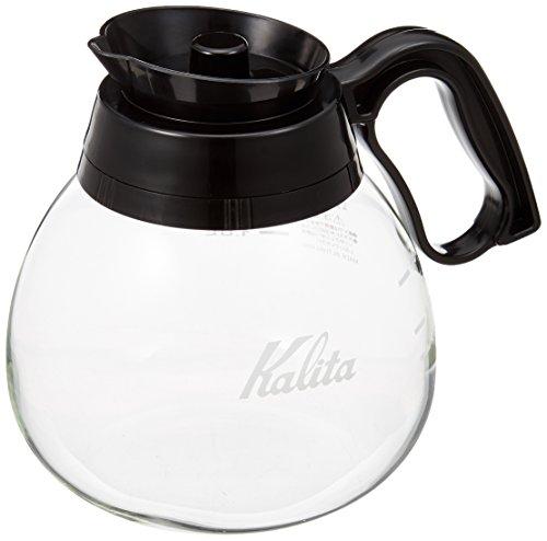 カリタ Kalita コーヒーデカンタ 耐熱ガラス 1.8L ブラック #32003