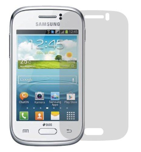 dipos I 2X Schutzfolie matt kompatibel mit Samsung Galaxy Young Duos S6312 Folie Displayschutzfolie