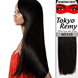 Motown Tress (Tokyo Remy Weave) 16 - Yaky Protein Hair Blend Weave in 1B