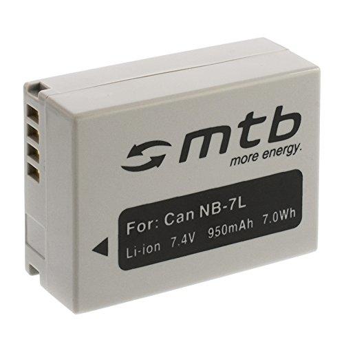 Batteria NB-7L per Canon PowerShot G10, G11, G12, SX30 IS