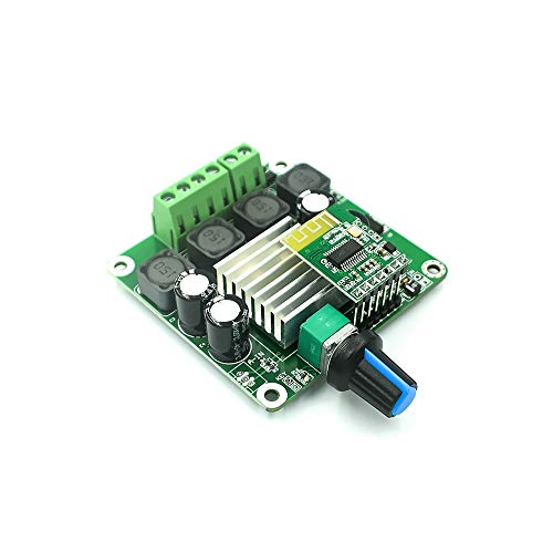 KEPUSHIYE TPA3116 Tablero de Amplificador de Potencia Digital 50WX2 Clase estéreo D Power AMP Bluetooth 5.0 Amplificador de Potencia Tablero DC 12V 24V