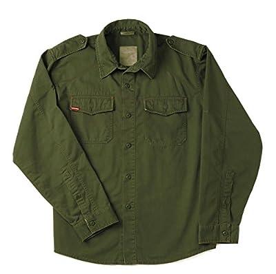 Rothco Vintage BDU Shirt, Olive Drab, Small