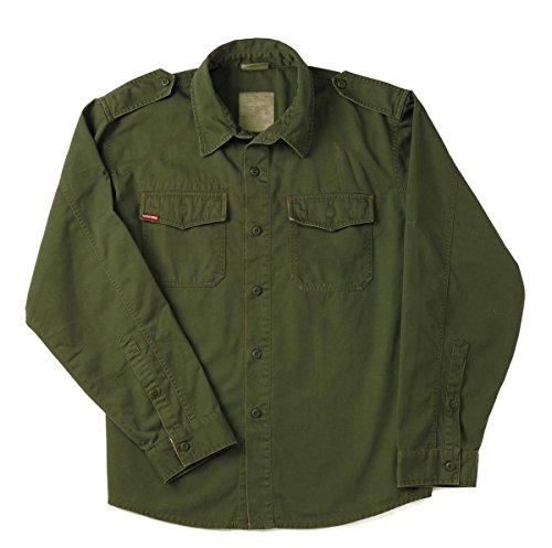 Rothco Vintage BDU Shirt, Olive Drab, X-Large