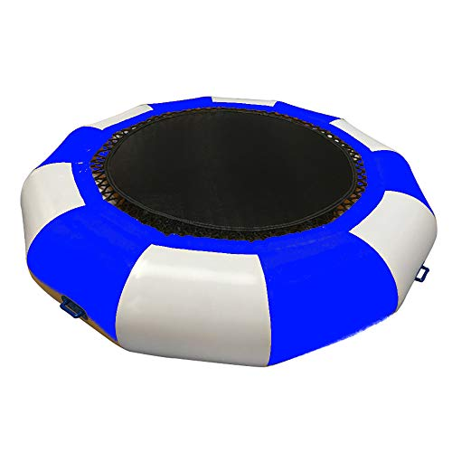 JXYNB Inflatable Water Trampoline Bouncer - 6.5ft W/high Speed Inflator and Patch Package, for Adults Kids Summer Swimming Pool Lake Sea Activities Games