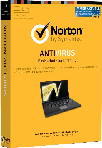 Norton Antivirus 2013 - 1PC