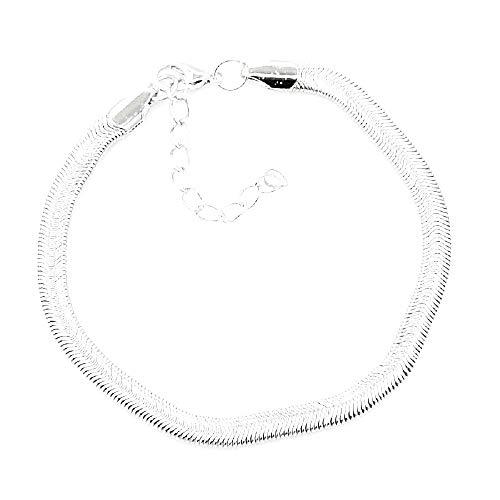 Slangenbandje - vrouw - meisje - vrouw - zee - shirt - zomer - strand - mode - zwembad - zilver - verstelbaar - kerstmis - origineel cadeau-idee - sieraden - verjaardag