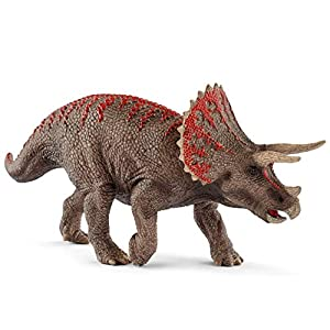 SCHLEICH Dinosaurs Triceratops Educational Figurine for Kids Ages 4-12 - 41WVq9qHbVL - SCHLEICH Dinosaurs Triceratops Educational Figurine for Kids Ages 4-12