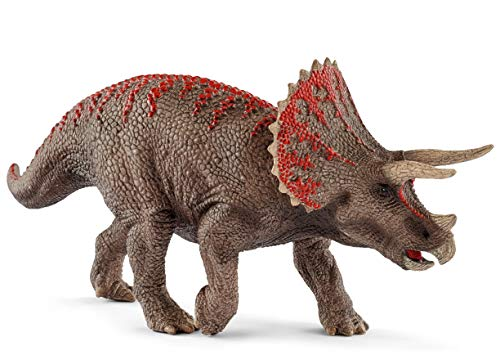 SCHLEICH Dinosaurs Triceratops Educational Figurine for Kids Ages 4-12