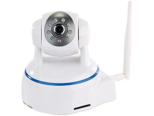 7links Webcam schwenkbar: Dreh- & schwenkbare Indoor-IP-Kamera, Full HD, WLAN, SD-Aufnahme & App (Webcam drehbar)
