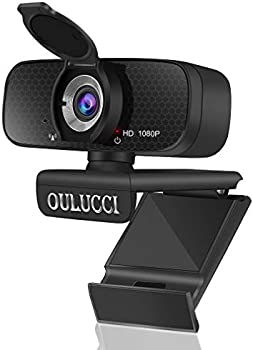 Oulucci AutoFocus 1080P HD Webcam with Microphone & Privacy Cover