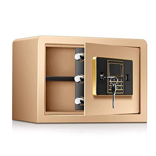 Veilig voor Pistol, Brandkast Digital Security Kluis Double Safety Key Lock en beveiligen met een wachtwoord Jewelry Gun Cash Safe