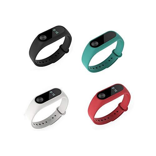 Fit-power Ersatz-Bänder für Xiaomi Mi Band 2Smart-Armband (nicht für Xiao Mi Band 1S), Pack of 3-typeF