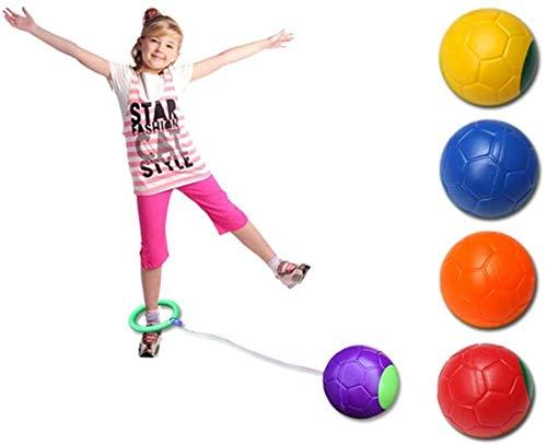 Fitnessgeräte Outdoor Bewegung Spielzeug Flummi Fitness Gewicht verlieren One Foot Flick Gerade Toy Jump Flash-Ringblitz UOMUN