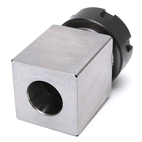 Hard Steel Square ER-25 Collet Chuck Block Lathe Tool Holder Power Tools Tools