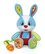 Clementoni 61769 Clementoni-61769-Baby Interactive Rabbit, Multi-Colour