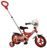 Disney Cars Push Rod Bicicleta Niños, Chico, Rojo, Red/Black
