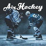 """Hockey 2022 Calendar: SPORT Calendar 2022-2023 – 18 months – BIG SIZE 17""""x11"""". Planner for all fans kids boys - Hockey calendar 2022"""