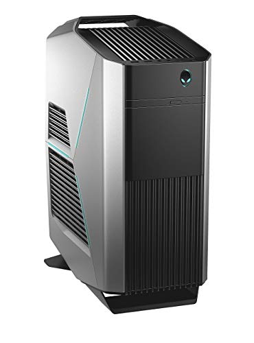 Alienware Aurora R8 High End Gaming Desktop AUR8-5516SLV (Intel Core i5, 16GB Memory, NVIDIA GeForce RTX 2070, 1TB Hard Drive + 256GB Solid State Drive) in Epic Silver (Renewed)