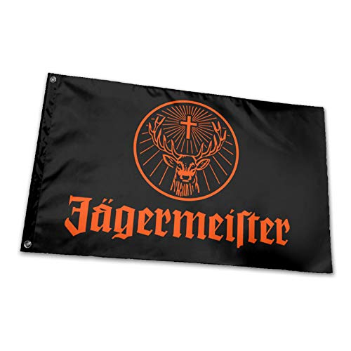 hlhhing Jagermeister Flagge Riesen Hofschild Outdoor Dekoration Banner (91 x 152 cm) 1