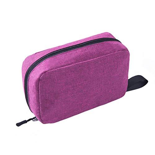 BenBang Bolsa de cosméticos Bolsas de cosméticos para mujeres Bolsas de cosméticos de viaje con cremallera Aplicar a los accesorios Champú Recipiente de tamaño completo Artículos de tocador 1 pieza