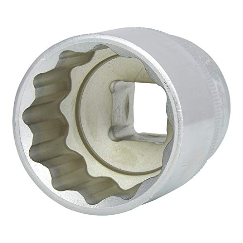 "KS Tools 911.1586 Vaso para tornillos 12 cantos (tamaño: 30 mm, 1/2""), 5.1 cm"