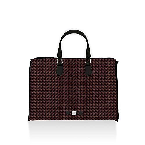 Save My Bag Club Lycra Intrecciato - Bolso para Mujer