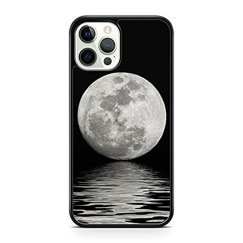 Extravagante Magnificent Luna Llena Océano Agua Reflejar Paisaje Funda de Teléfono (Teléfono Modelo: Compatible Con Huawei P10 Ligero)