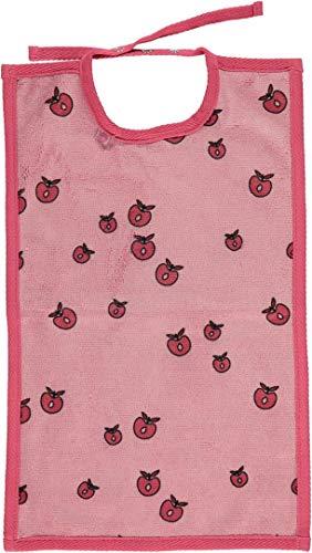 Smafolk Lätzchen rosa mit Äpfeln