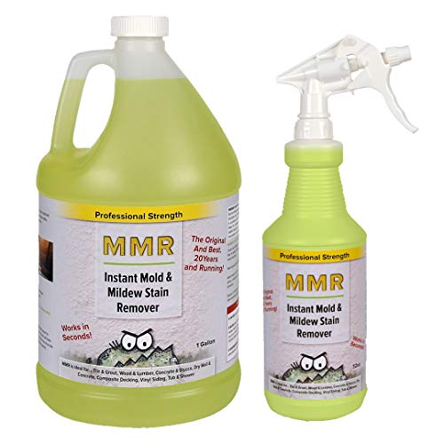 Professional 1-gal. and 32oz. Combo Instant Mold and Mildew Stain Remover
