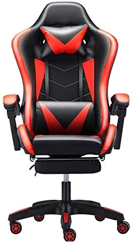 ZHEYANG Sedia Poltrona Gaming Telaio Schienale Alto Ufficio Sedia in Metallo for Gaming Working Dimensione: 70X70X125CM
