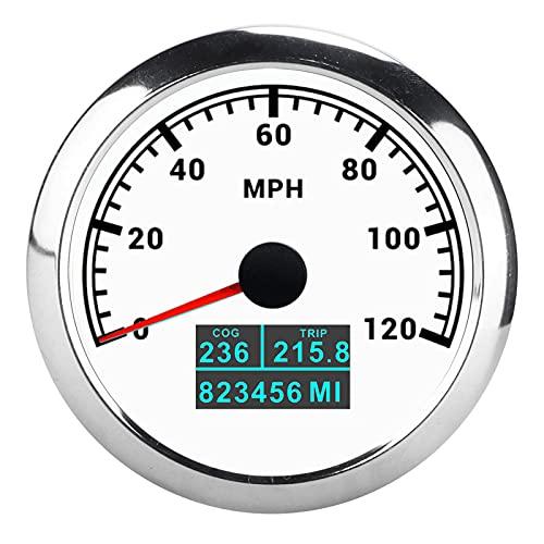 Cuentakilómetros, Velocímetro GPS De Motor Paso A Paso A Prueba De Polvo IP67 De Alta Precisión Con Antena GPS Para Barco Marino, Camión, Coche