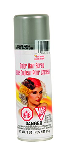 Price comparison product image Rubie's Color Hairspray,  Silver