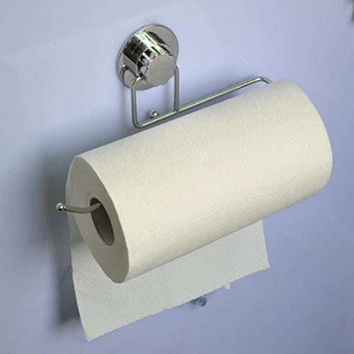 Toiletrolhouder voor aan de muur gemonteerde wand/handdoekrek, keukenrolhouder, lange planken van kunststof.