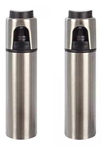 Hillfield® Essig - Ölsprüher-Set 17,5 cm, 2 Stück im Set (1 Set = 2 Stück)
