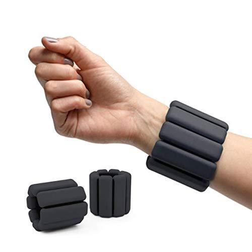 KLGZ Gewichtsmanschetten Verstellbares Fußgelenkgewichte| Armgewichte Handgelenkgewichte für Fitness, Bewegung, Laufen, Joggen, Gymnastik A