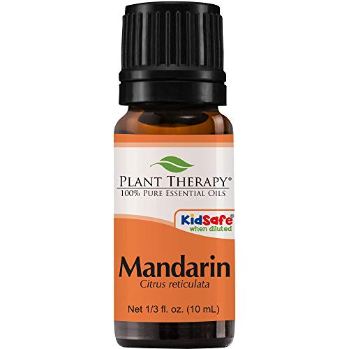 Plant Therapy Mandarin Essential Oil 10 mL (1/3 oz) 100% Pure, Undiluted, Therapeutic Grade