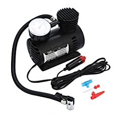 Bring To The Beach, Sports Games, Camping Etc All You Need To Do Is Plug Into Cigarette Lighter And Watch As It Inflates With No Puffing Needed! Great For Inflating Tyres, Inflatable Toys, Dinghies, All Sports Equipment, Mattresses, Air Beds, Etc. Th...
