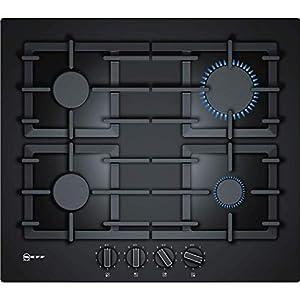 Plaque gaz Neff T26CS49S0 - Plaque de cuisson 4 foyers