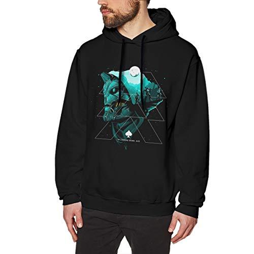 MYHL Men's des-Tiny 2 Graphic Fashion Sport Hip Hop Hoodie Sweatshirt Pullover Tops