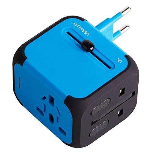 Milool universellen Reise-Adapter mit Doppel USB-Ports aus 150 Ländern weltweit ...