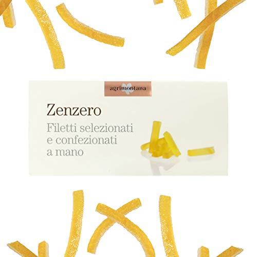 Candita Frucht handgefertigt, Ingwer Candito in Filetti, 200 g