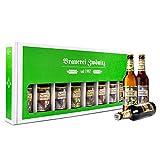 Brauerei Zwönitz Männerhandtasche Bier/Party Bier Set mit 8 Bieren/Bier Geschenke/Männer Handtasche als Bier Geschenk/Bier Männerhandtasche/Bier Paket als Vatertagsgeschenk / 8 × 0,5 l Flaschen