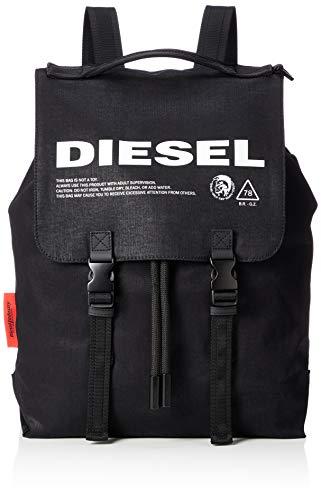 Diesel Herren THISBAGISNOTATOY VOLPAGO BACK - backpack Rucksäcke, schwarz, Einheitsgröße