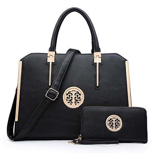 ❤️ HIGH QUALITY MATERIAL: This designer handbag is made of environmental vegan leather with all stitches in neat and orderly rows. We have always been strict with both the choosing of materials and processing of products, in other words, we are bette...