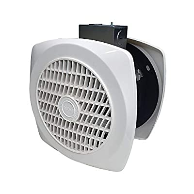 BV Wall Ventilation Exhaust Fan for Home, Through-The-Wall Utility Fan, 6 inch, 4.0 Sones, 90 CFM
