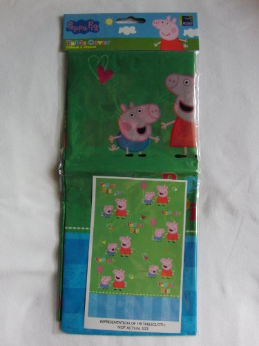 Peppa Pig Birthday Party Party Table Cover Boîte de 1