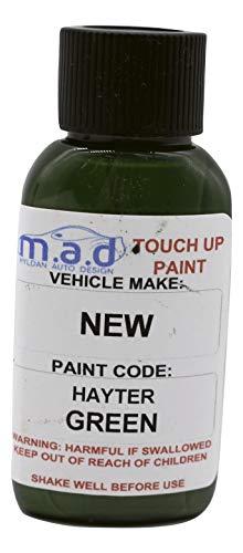 Kit de retouche de peinture de 30 mL pour tondeuse à gazon Hayter, Vert