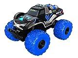 EXOST - Coche teledirigido - Monster - Monster Truck con Neumáticos XXL - 4x4 Todo Terreno - Juguete Escala 1:8