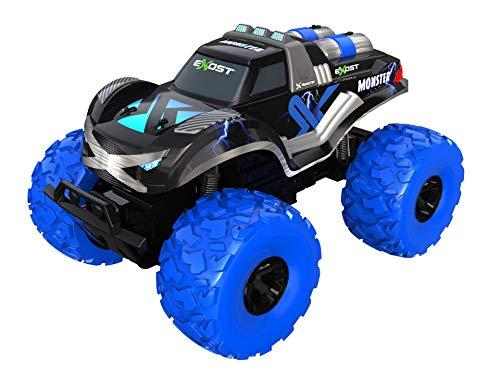 EXOST - Coche teledirigido - Monster - Monster Truck con Neumáticos XXL - 4x4 Todo...